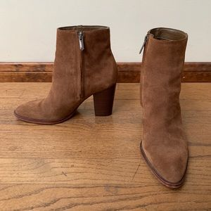 Sam Edelman Suede heeled Booties
